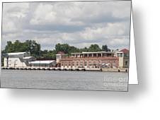 Port Of Rochester Greeting Card