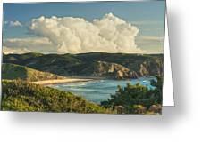 Praia Do Amado Greeting Card