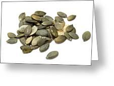 Pumpkin Seeds Greeting Card