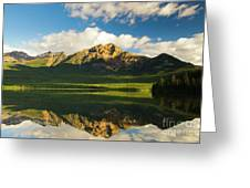 Pyramid Lake Greeting Card