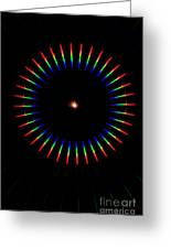 Quicklime Spectra Limelight Greeting Card
