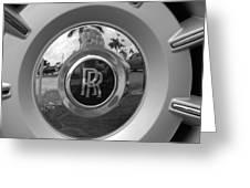 R R Wheel Greeting Card