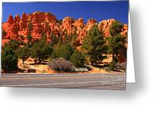 Red Canyon Greeting Card