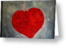 Red Heart Greeting Card