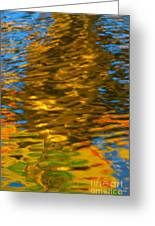 Reflection In Water. Greeting Card