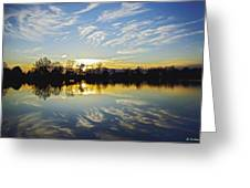 Reflections Greeting Card by Brian Wallace