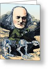 Richard Owen, English Paleontologist Greeting Card by Science Source