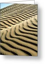 Rippled Sand Dunes Greeting Card