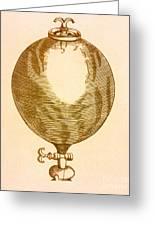 Robert Boyles Air Pumps Greeting Card