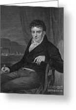 Robert Fulton, American Engineer Greeting Card