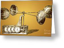 Robinsons Anemometer, 1846 Greeting Card