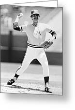 Rollie Fingers (1946- ) Greeting Card by Granger