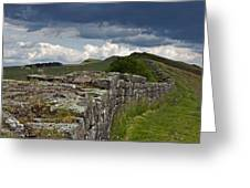 Roman Wall Country Greeting Card