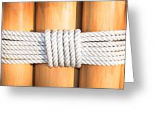 Rope Greeting Card by Tom Gowanlock
