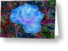 Rose In The Matter Of Your Hand 4 Greeting Card