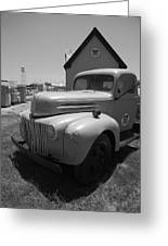 Route 66 Truck And Gas Station Greeting Card