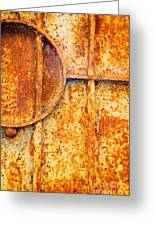 Rusty Gate Detail Greeting Card