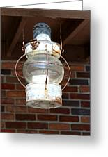 Rusty Lantern Greeting Card