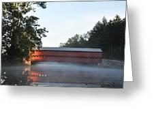 Sachs Covered Bridge  Near Gettysburg Greeting Card