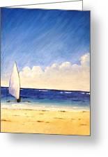 Sail On The Sea Greeting Card