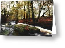 Sally Gap, County Wicklow, Ireland Greeting Card