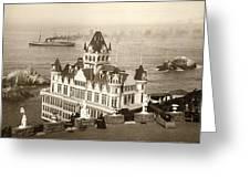 San Francisco Cliff House Greeting Card