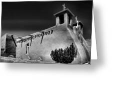 San Francisco De Asis Church Iv Greeting Card