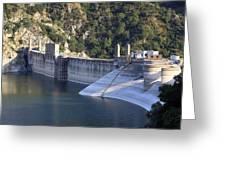 San Gabriel Dam Greeting Card by Viktor Savchenko