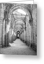 San Galgano Abbey Greeting Card
