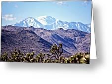 San Gorgonio Mountains Greeting Card