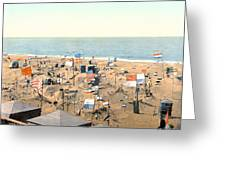 Sand Castles, C1895 Greeting Card