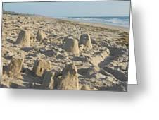 Sand Play Greeting Card