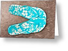 Sandals Greeting Card