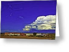 Santa Fe Drive - New Mexico Greeting Card