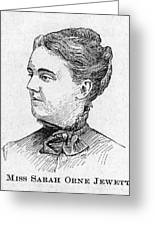 Sarah Orne Jewett Greeting Card