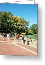 Saturday In The Park Greeting Card