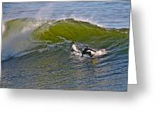 Sc Surfer Greeting Card