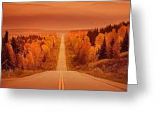 Scenic Highway Greeting Card