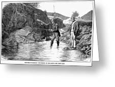 Scotland: Fishing, 1880 Greeting Card