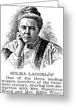 Selma Lagerlof (1858-1940) Greeting Card