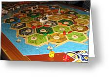 Settlers Of Catan Greeting Card
