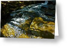 Shadowed Cascade Greeting Card