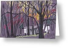 Sheds Greeting Card