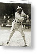 Shoeless Joe Jackson  (1889-1991) Greeting Card