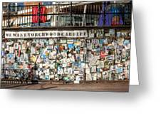 Shrine To Ianto Greeting Card