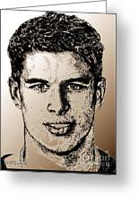 Sidney Crosby In 2007 Greeting Card