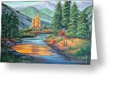 Sierra Creek Greeting Card