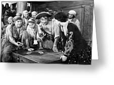 Silent Film Still: Pirates Greeting Card
