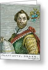 Sir Francis Drake (1540?-1596) Greeting Card