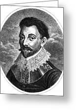 Sir Francis Drake, English Explorer Greeting Card by Photo Researchers